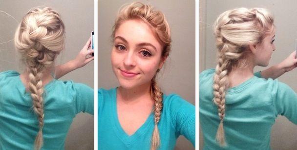 Как сделать причёску как у Эльзы