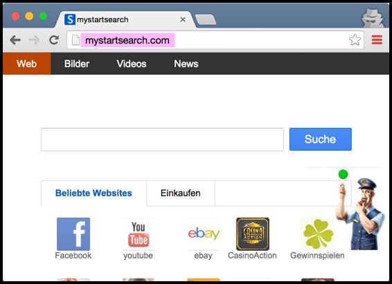 Удаление mystartsearch.com