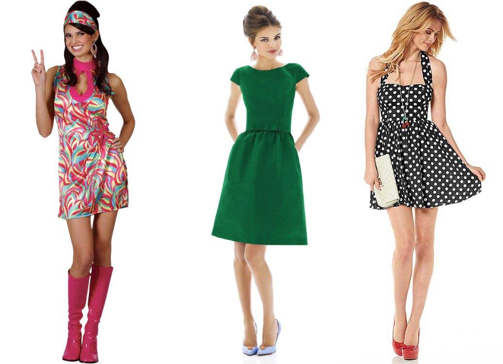 Платья в стиле 60 х