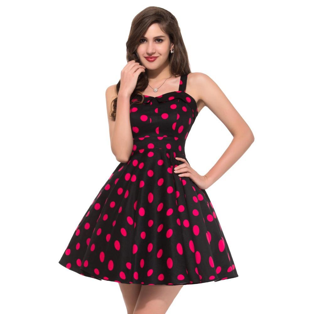 Пышные платье в стиле 60 х