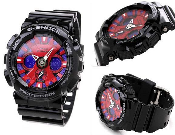 Часы Дмитрия Медведева Casio G-Shock GA-120B-1A