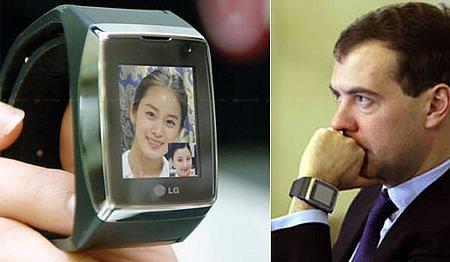 LG Watch Phone у Дмитрия Медведева