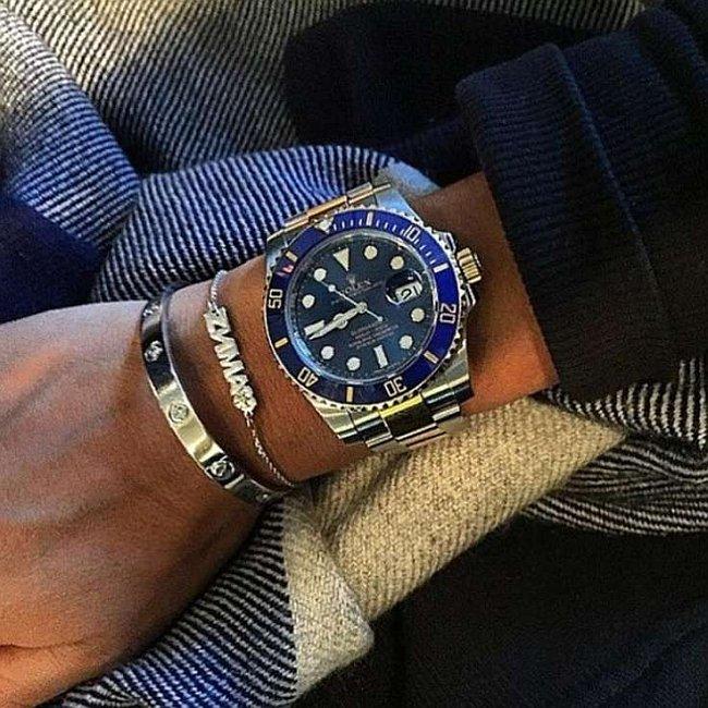Часы как у бородиной с синим циферблатом фото