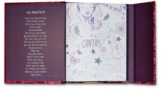 Оригинальный дневник как у Виолетты