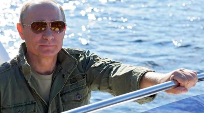 Путин в очках Chrome Hearts