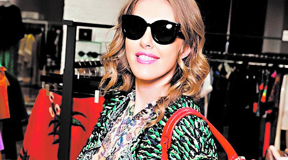 Любимые очки Ксении Собчак