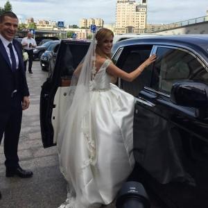 Свадебный платье ксении собчак фото